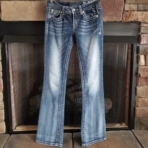 Miss Me Bootcut Jeans sz 27